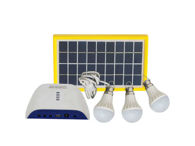 DC SOLAR HOME LIGHTING KIT